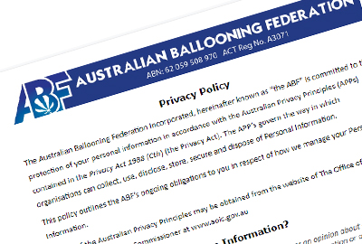 The ABF have added a Social Media Policy to our documents and also updated the Privacy Policy. All members should take the time to read, understand and comment on these documents as needed. The documents are available in the Members only ABF Documents section of the website. The privacy policy is also available via link at the bottom of the website.
